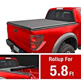 MaxMate Roll Up Truck Bed Tonneau Cover Works with 2009-2019 Dodge Ram 1500 (2019 Classic ONLY) | Without Ram Box | Fleetside 5.8' Bed