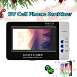 UV Cell Phone Cleaner Sanitizer Sterilizer,Smartphone Sanitizer Sterilizer Cleaner,Cell Phone Cleaners UV Light Sanitzier Box for All Phones Jewelry Watch