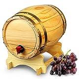 bar@drinkstuff Tonneau sur support , distributeur à vin en bois...