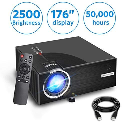 Aoxun 2019 Mini Projector, Full HD 1080P