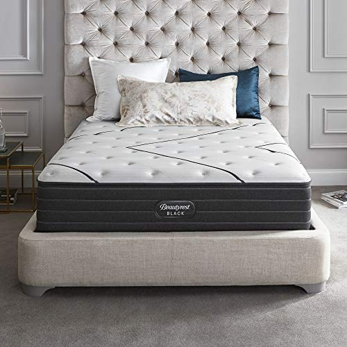 Beautyrest Black 14 Inch Queen L-Class Extra Firm Premium Pocketed Coil Mattress with Cooling Technology