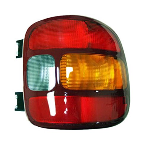 Rareelectrical NEW RIGHT TAIL LIGHT COMPATIBLE WITH GMC SIERRA 1500 STEPSIDE BED 99-03 15224276 19169013 GM2801136