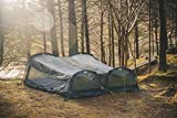 Crua Twin Hybrid 2 Person Premium Quality Tents/Hammock - USA Based,Camping, Hiking, Motorcycles, Waterproof, Portable, Lightweight, Outdoor, Tree Straps, Travel Gear, Backpacking, rainfly