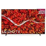 LG UP 2021 - 82UP8000 - ALEXA - Smart TV 4K UHD 207 cm (82'), Procesador Inteligente α7 Gen4, Deep Learning, 100% HDR, Sonido Virtual Surround, HDMI 2.1, USB 2.0, Bluetooth 5.0, WiFi