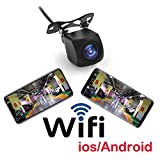 Fumei HD 720p WiFi Camera Wireless Backup Camera for Car with APP...