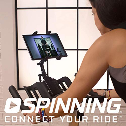 Spinner® L9 Spin Bike Belt Drive w/ Tablet Mount and Dual Water Bottle Holder 4