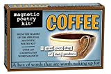 Magnetic Poetry - Coffee Kit - Words for Refrigerator - Write Poems and Letters on The Fridge - Made in The USA