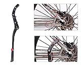 BlueSunshine Rear Mount Bicycle Kickstand Adjustable Aluminum Alloy Bike Stand fits 24'-28'