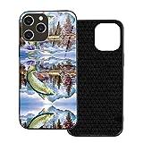 釣りに行く Iphone 12 Pro ケース Iphone12mini 耐衝撃 指紋防止 超耐磨 軽量 四隅滑り止め ワ……