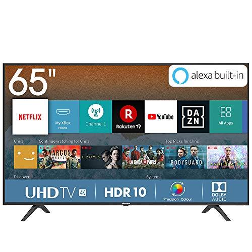 "Hisense H65BE7000 Smart TV LED Ultra HD 4K 65"", HDR, Dolby DTS, Slim Design, Tuner DVB-T2/S2 HEVC Ma"
