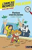 L'énigme des vacances - Panique chez les pandas - Un roman-jeu pour réviser les...