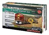 Kato USA Model Train Products N Scale Santa Fe Super Chief Starter Set
