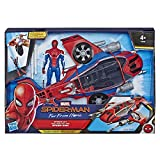 Marvel Spider-Man Far From Home – Véhicule Spiderjet et figurine - Jouet...