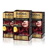 Syoss Oleo Intense - Tinte 5-92 Rojo Intenso – Coloración permanente Sin...