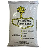 Palmetto Poolfilter-50 Superior Pool Sand Filter  20# Grade  Formula, Commercial Filters-50 Pounds