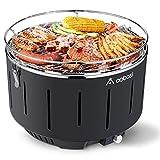 Aobosi sans Fumée Barbecue à Charbon de Bois/Portable Barbecue de Acier...
