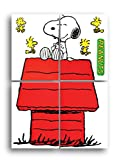 Eureka Back to School Giant Character Snoopy and Dog House Bulletin Board Set, Classroom Supplies, 48'' x 34'', 8 pc.