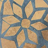 Jago Mosaiktisch rund oder eckig Stahl Mosaik - 5