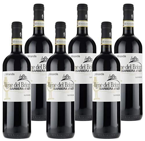 Barbera D'Asti Superiore Docg Vigne Del Bricco - 6 bottiglie da 75cl