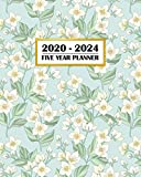 2020-2024 Five Year Planner: Beautiful Floral Print for Mom Daughter Sister or Best Friend   60 Month Calendar and Log Book   Business Team Time ... 5 Year - 2020 2021 2022 2023 2024 Calendar)