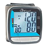 Care Touch Automatic Wrist Blood Pressure Cuff Monitor - Classic Edition - Fast Accurate Readings and...