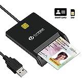 Eletrand Lecteur de Carte à Puce/ Smartcard Reader   Plug et Play  ...
