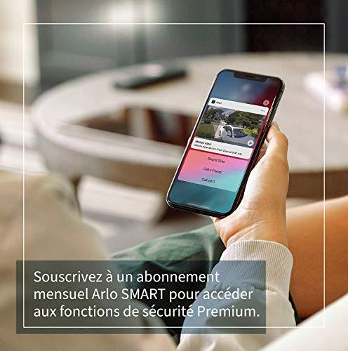 51OlWRfFgeL._SL500_ [Bon plan] !  Arlo Pro3 caméra de surveillance Wifi extérieure. caméra IP 2K HDR, rechargeable. Grand angle 160°, Audio Bi-direct...
