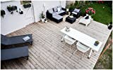Allibert Lounge-Set Moorea 4tlg, graphit/panama cool grey - 6