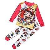 Pijama de Super Mario para niños de 1 a 7 años Multicolor Multicolor 6-7 Años