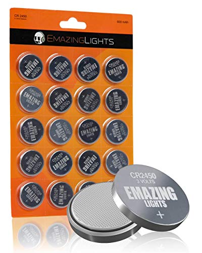 Emazinglights 3V Lithium Button Cell Battery Pack