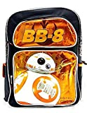 Disney Star Wars The Force Awakens BB-8 Astro Droid 16' Canvas Orange Backpack