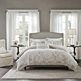 Harbor House Suzanna Comforter Mini Set, Taupe, King, Comforter Set