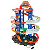 Hot Wheels City Robo T-Rex Ultimate Garage Multi-Level Multi-Play Mode Stores 100 Plus 1:64 Scale...