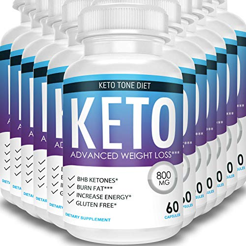 Keto Tone Diet - Advanced Weight Loss - Ketosis Supplement (12 Month Supply) 1
