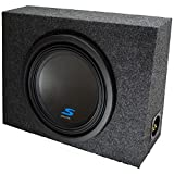 Universal Regular Standard Cab Truck Alpine S-W12D4 Type S Car Audio Subwoofer Custom Single 12' Sub Box Enclosure Package New