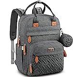 Diaper Bag Backpack, BabbleRoo Baby Nappy Changing Bags Multifunction Waterproof Travel Back Pack...