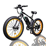 ECOTRIC Fat Tire Electric Bike Beach Snow Bicycle 26' 4.0 inch Fat Tire ebike 500W 36V/13AH Electric...