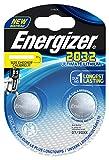Energizer E301319300 Lot de 2 Piles spéciales au Lithium CR 2032 Chromé