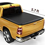 YITAMOTOR Soft Tri-Fold Truck Bed Tonneau Cover Compatible with 2019-2021 Dodge Ram 1500 New Body...