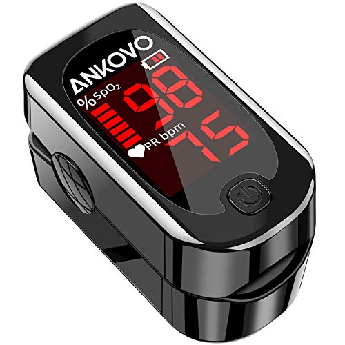 ANKOVO Blood Oxygen Saturation Monitor with Pulse Rate