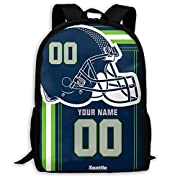 Material : Polyester Customize Now : Customize a Personalized Backpack is easy! Add a note to your order Any Name and Any Number, And we'll handle the rest. The processing time is about 2-4 days to prepare your order Product Performance : Made of hig...