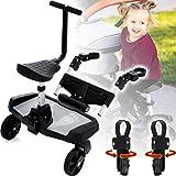 Marchepied et siège supplémentaire pour poussette ou landau – Convient pour enfants d'un poids jusqu'à 20kg
