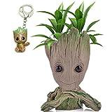 Udream Baby Groot Maceta - Maravillosa Figura de accin de Guardians of The Galaxy para Plantas y bolgrafos - Perfecto como Regalo - Soy Groot