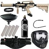 Action Village Tippmann Cronus Epic Paintball Gun Package Kit - Basic & Tactica (Tan Tactical)