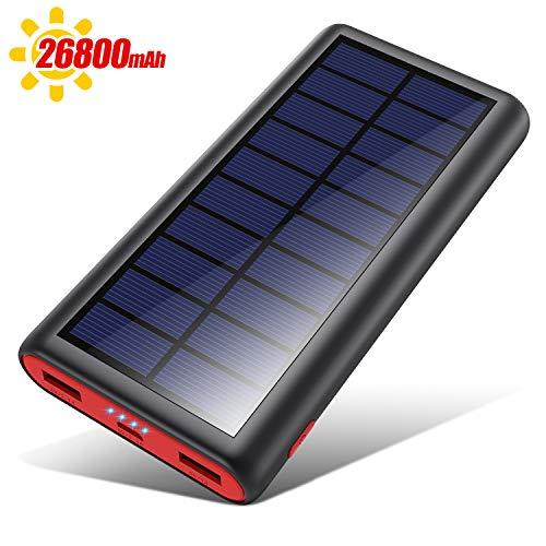 VOOE Powerbank Solare 26800mAh, 【2020 Chip...