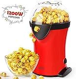 SIMBR Machine à Popcorn Electrique 1200W,Appareils à Popcorn Electrique...