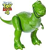 Toy Story- 4 Disney Pixar Rex Il Dinosauro Personaggio Articolato da 18 cm, Giocattolo per Bambini di 3+ Anni, GGX35