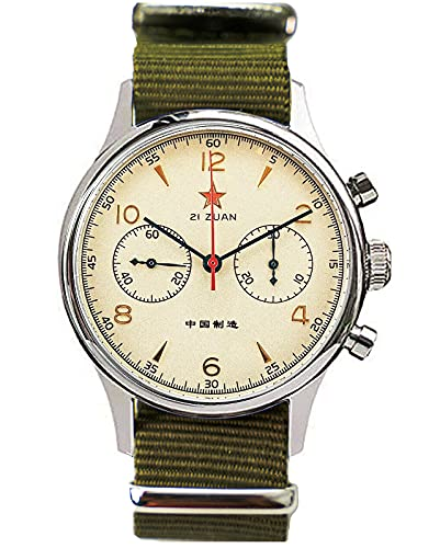 Gold SWAN Neck Seagull 1963 40 mm Saphirkristall ST1901 Uhrwerk Herren Chronograph Uhr 1963 SU1963S40X
