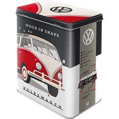 Nostalgic-Art 30136 Volkswagen - VW Bulli - Let's Get Away!, Vorratsdose L
