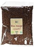 RITA LA BELLE Riz Rouge Bio 1 kg - Lot de 3